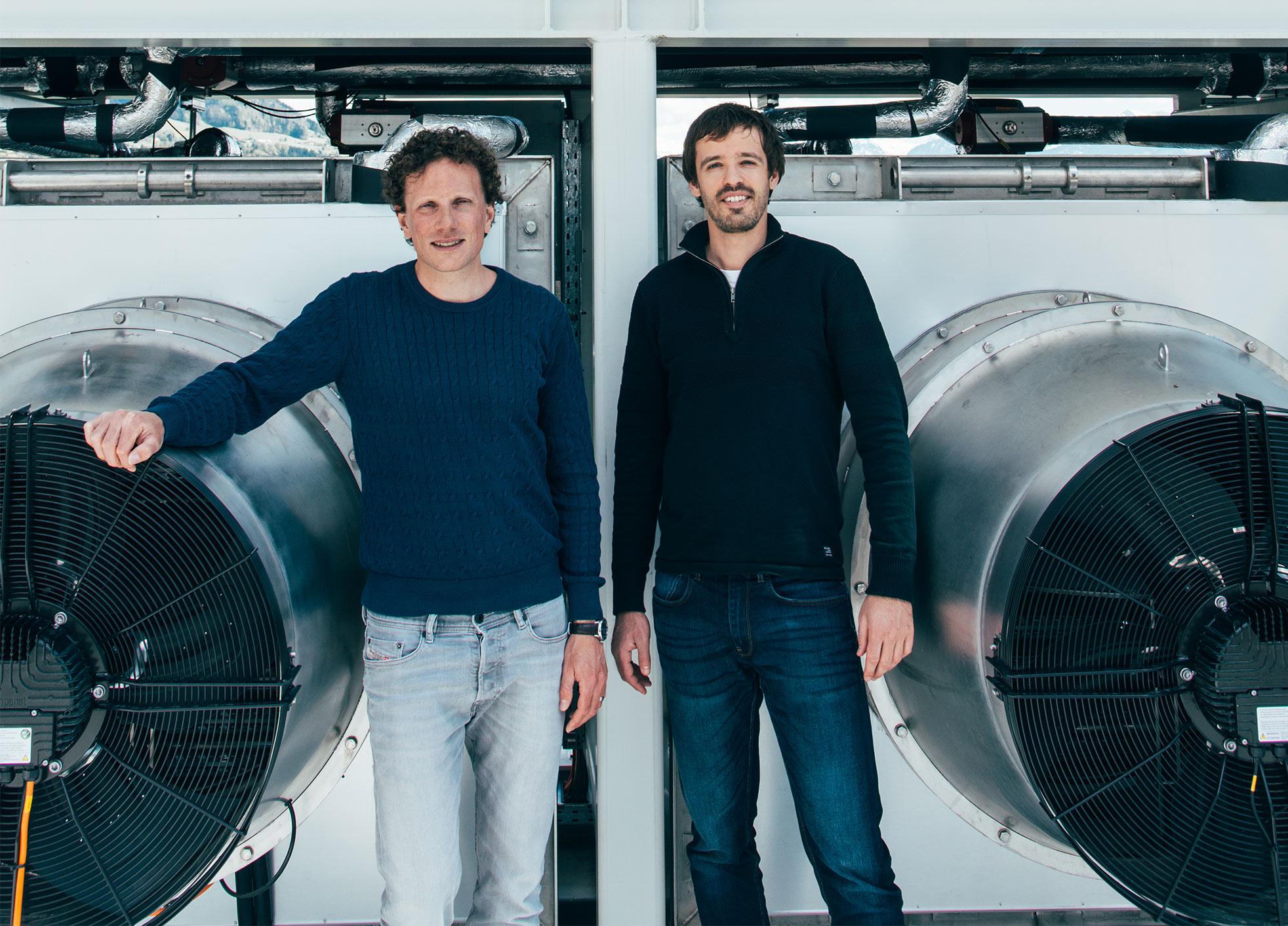 Christoph Gebald and Jan Wurzbacher