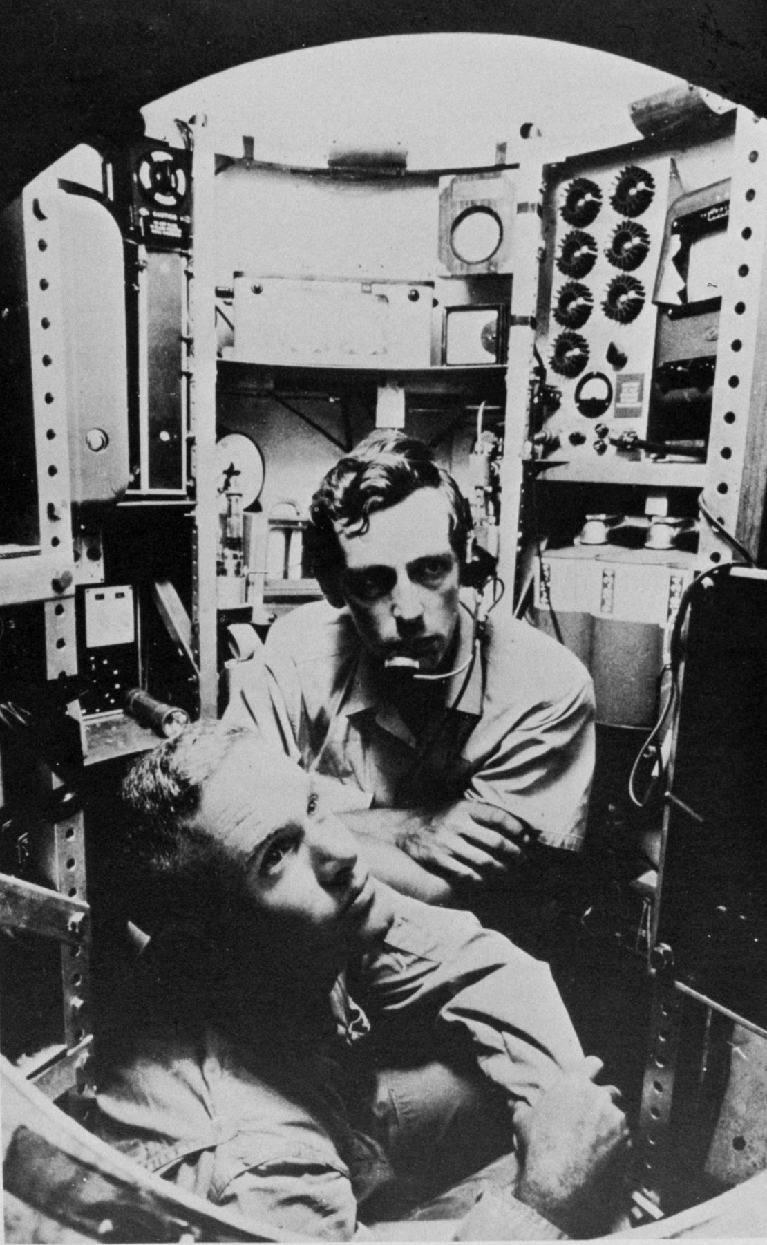 CAPTAIN WALSH AND JACQUES PICCARD