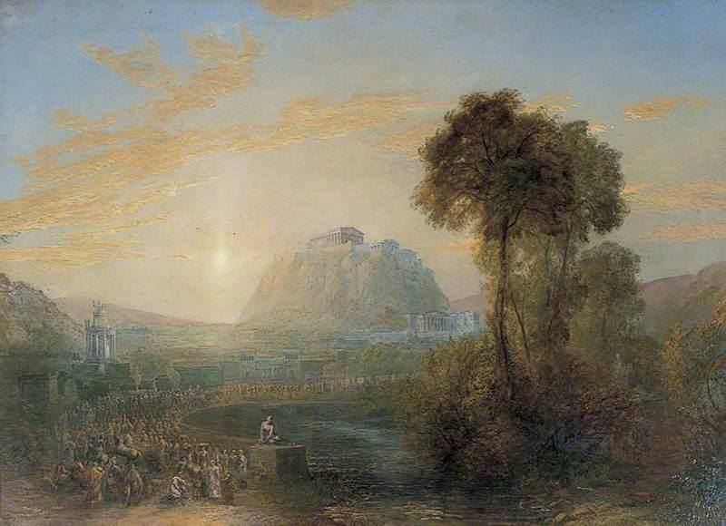 Herbert, Sydney, 1854-1914; A Dream of Ancient Athens