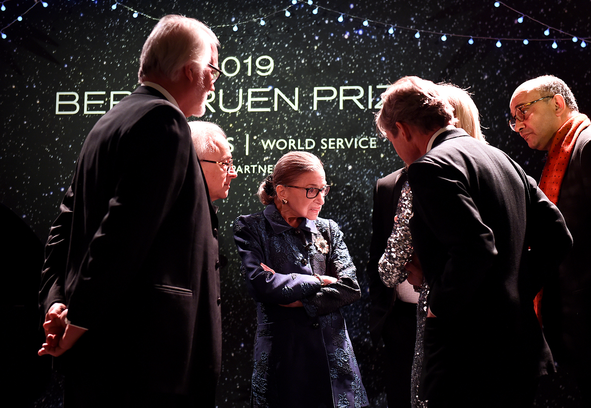 Fourth Annual Berggruen Prize Gala Celebrates 2019 Laureate Supreme Court Justice Ruth Bader Ginsburg In New York City – Inside
